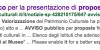 Schermata google avviso MIBACT 1