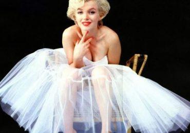 Nell'immagine, una Marilyn Monroe-ballerina immortalata da MILTON GREENE